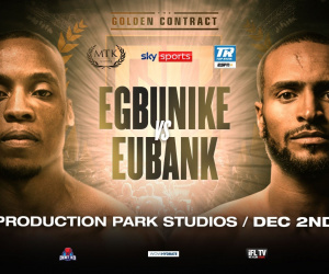 Daniel Egbunike vs Harlem Eubank golden contract finals oddschecker betting odds december 2 mtk preview predictions tale of the tape amateur pro record
