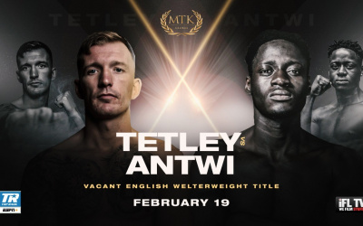Darren Tetley vs Samuel Antwi #MTKFightNight betting odds oddschecker who wins and why predictions preview watch live stream links Friday 19 February at the University of Bolton Stadium ifl tv espn