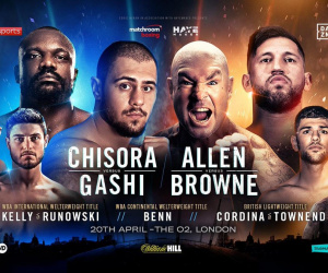 David Allen vs Lucas Browne predictions