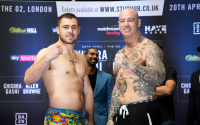 David Allen vs  Lucas Browne weights and running order