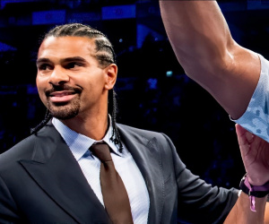 David Haye looks forward to eWBSS Heavyweight Legends tournament quarter-final with George Foreman
