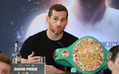 David Price November 23 next fight