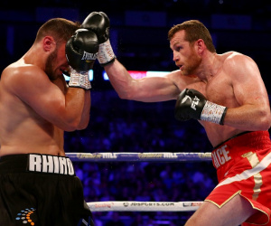 Dave Allen vs David Price results report