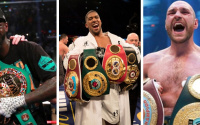 Deontay Wilder Anthony Joshua Tyson Fury