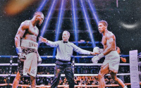 Anthony Joshua in negotiations with Deontay Wilder