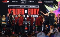 Deontay Wilder heaviest ever for Tyson Fury rematch weigh in weights running order