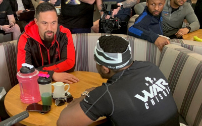 Joseph Parker is bookies favourite to defeat Derek Chisora