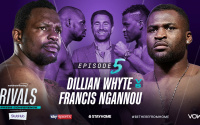 Dillian Whyte and UFC star Francis Ngannou will come together for a special ePress conference youtube what time