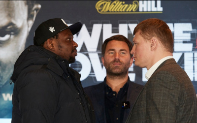 Predictions for Dillian Whyte vs Alexander Povetkin who win and why preview betting odds