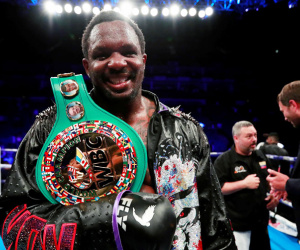 WBC No.1 Dillian Whyte 1000 days world title shot mandatory status