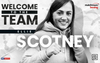 Team GB starlet Ellie Scotney signs with Matchroom