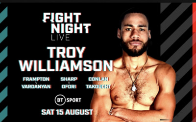 Troy Williamson was not impressed with either Sam Eggington or Ted Cheeseman Ibf European inter-continental title