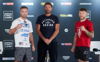 Press conference quotes: Felix Cash aims to show he is a level above Jason Welborn