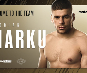Albanian Welterweight sensation Florian Marku signs with Matchroom Boxing amateur pro career who is he record fight next time date tv venue schedule undercard conor benn predictions preview who wins why albania kickboxing career