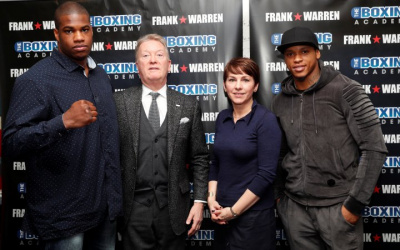 Frank Warren shares his wish list for 2020