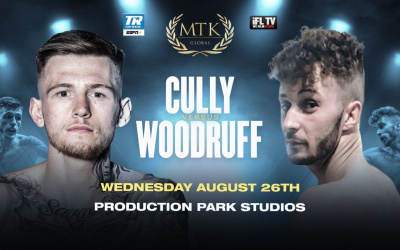 Gary Cully vs Craig Woodruff mtk global mtkfightnight august 26
