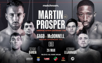 The Anglo-Spanish War reignites Gavin McDonell and Kay Prosper Sandor Martin march 26 barcelona how to watch tv channel live stream links matchroom sky sports Andoni Gago who wins preview