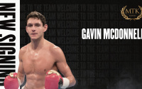 MTK Global signs advisory deal with Gavin McDonnell european world title contender challenger andoni gago lopez spain world belt jamie twin brother bilbao