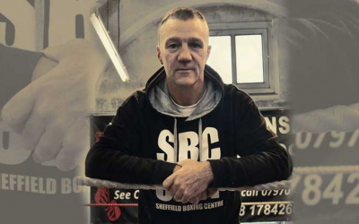 Trainer Glyn Rhodes believes Tommy Frank is on the verge of big title fights