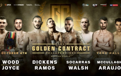 Golden Contract featherweight quarter-finals press conference quotes
