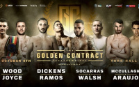 Golden Contract featherweight tournament quarter-final draw revealed