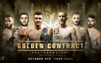 MTK Golden Contract featherweight