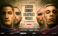 Golden Contract light-heavyweight semi-finals to take place over two separate countries