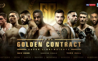 Golden Contract super-lightweight tournament draw made