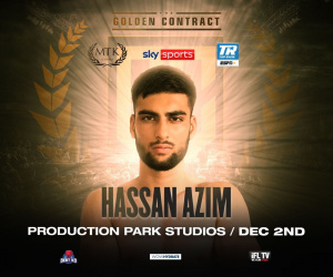 Hassan Azim makes debut on Golden Contract card
