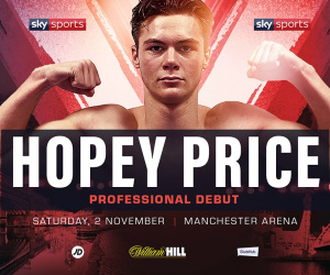 Top amateur Hopey Price joins Matchroom