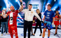 Ricards Bolotniks completely outboxed Hosea Burton to book his place in the Golden Contract light-heavyweight final fight result highlights who won