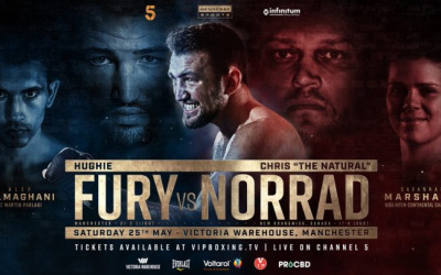 Hughie Fury vs Chris Norrad