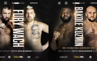 Hughie Fury vs Mariusz Wach and Martin Bakole vs Sergey Kuzmin join Joshua-Pulev card heavyweights who wins preview predicitons fight time date tv channel betting odds oddschecker