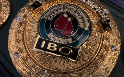 Latest IBO updates for the New Year top 100 world rankings ed levine president Women's World Champions male anthony joshua title belt golovkin next fight eubank jr two-time 2x