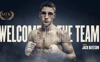 MTK Global announce the signing of undefeated super-bantamweight star Jack Bateson.
