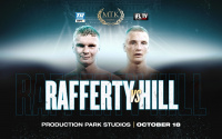 Unbeaten welterweight Jack Rafferty goes up against Northern Area title contender Tom Hill Production Park Studios in Wakefield on October 18, which will be broadcast in the US on ESPN+ in association with Top Rank, and worldwide on IFL TV