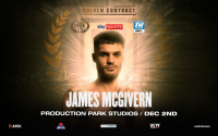 James McGivern vs Jordan Ellison replaces Danny Dignum vs Gino Kanters on Golden Contract card fight time date tv schedule live stream what start when on channel where to watch