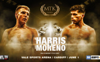 Jay Harris vs Angel Moreno