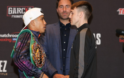 Jay Harris vs Julio Cesar Martinez press conference