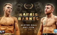 Jay Harris vs Paddy Barnes live results report