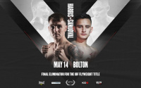 Jay Harris vs Ricardo Sandoval friday may 14 #MTKFightNight final eliminator for the IBF flyweight title oddschecker next fight betting odds