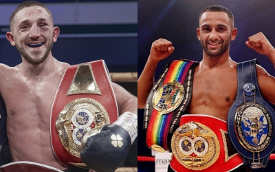 IBF order Kid Galahad vs Jazza Dickens for vacant world featherweight title josh warrington british title fight rematch who won first time betting odds oddschecker what time date when where venue tickets golden contract