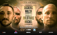 Jazza Dickens vs Ryan Walsh golden contract tournament finals featherweight wednesday december 2