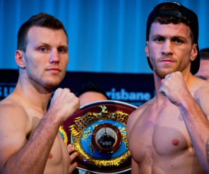 Jeff Horn v Gary Corcoran weights