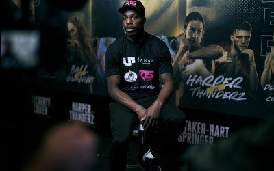 Jermaine Springer ready to leave it all in the ring against Thomas Whittaker-Hart in his dream opportunity ringwalks fight time date amateur pro career record sky tv channel betting odds oddschecker