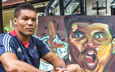 Joe Joyce painting Professional boxers share their pastimes outside of boxing
