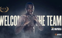 MTK Global signs unbeaten ace Joe Maphosa trainer boxer promoter phil jeffries frank warren amateur career record team gb world series boxing wsb zimbabwe yorkshire