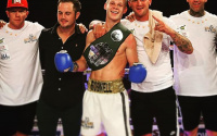 Debut Corner with Joe Roswell Margate super featherweight boxer ABA