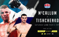 Edinburgh boxer John McCallum will challenge undefeated Russian Evgeny Tishchenko for vacant WBO European cruiserweight title box nationa what time start channel live stream links