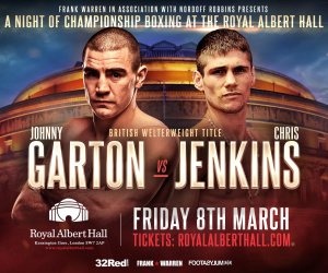 Johnny Garton vs Chris Jenkins